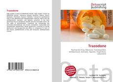 Trazodone kitap kapağı