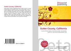 Buchcover von Sutter County, California
