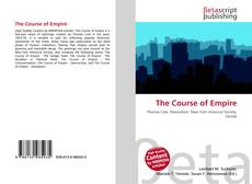 Bookcover of The Course of Empire