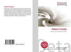 Bookcover of Robert Carlyle