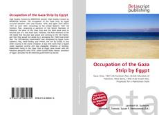 Bookcover of Occupation of the Gaza Strip by Egypt