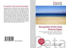 Portada del libro de Occupation of the Gaza Strip by Egypt