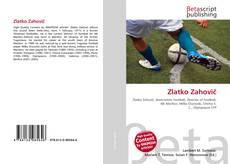 Bookcover of Zlatko Zahovič