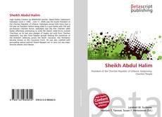 Buchcover von Sheikh Abdul Halim