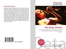 Bookcover of Nia Long, Actress