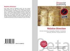 Copertina di Relative Direction