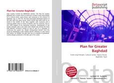 Capa do livro de Plan for Greater Baghdad