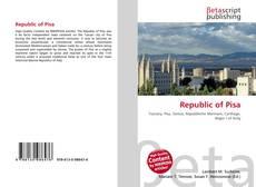 Couverture de Republic of Pisa