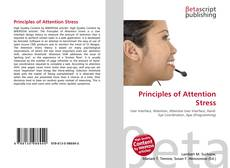 Bookcover of Principles of Attention Stress