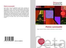 Bookcover of Pietro Lorenzetti