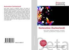 Bookcover of Restoration (Switzerland)