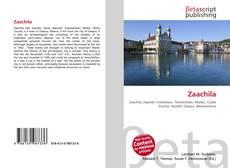 Bookcover of Zaachila