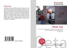 Bookcover of Ohrid, City