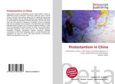 Bookcover of Protestantism in China