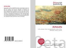 Buchcover von Achocalla