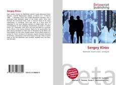 Bookcover of Sergey Kirov
