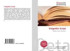 Buchcover von Visigothic Script