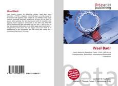 Bookcover of Wael Badr