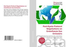 Post-Kyoto Protocol Negotiations on Greenhouse Gas Emissions kitap kapağı