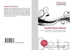 Couverture de Saadat Hasan Manto