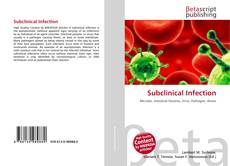 Обложка Subclinical Infection