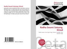 Bookcover of Radha Swami Satsang, Dinod