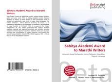 Borítókép a  Sahitya Akademi Award to Marathi Writers - hoz