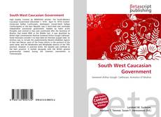 Bookcover of South West Caucasian Government