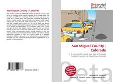 Bookcover of San Miguel County - Colorado