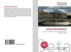 Borítókép a  Achse (Architektur) - hoz