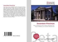 Bookcover of Seventeen Provinces