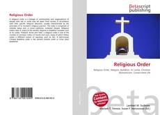 Обложка Religious Order