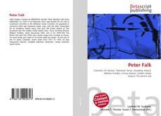 Buchcover von Peter Falk