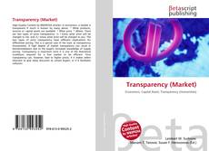 Bookcover of Transparency (Market)