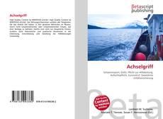 Capa do livro de Achselgriff