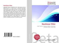 Buchcover von Nonlinear Filter
