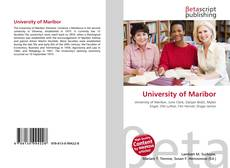 Bookcover of University of Maribor