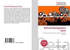 Bookcover of Richard Montgomery Gano