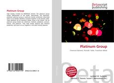 Bookcover of Platinum Group