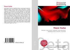 Bookcover of Thom Yorke