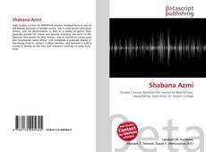 Обложка Shabana Azmi