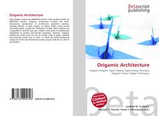 Couverture de Origamic Architecture
