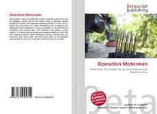 Borítókép a  Operation Motorman - hoz