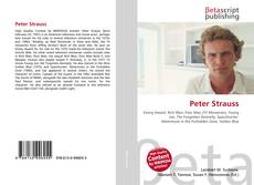 Bookcover of Peter Strauss