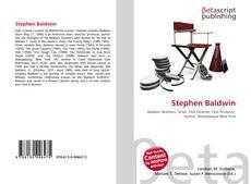 Couverture de Stephen Baldwin