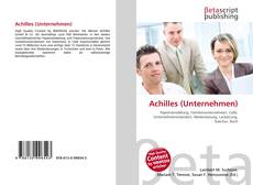 Capa do livro de Achilles (Unternehmen)