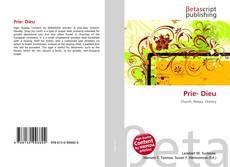 Bookcover of Prie- Dieu