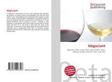 Bookcover of Négociant