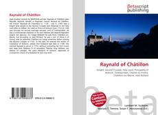 Bookcover of Raynald of Châtillon