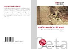 Bookcover of Professional Certification
